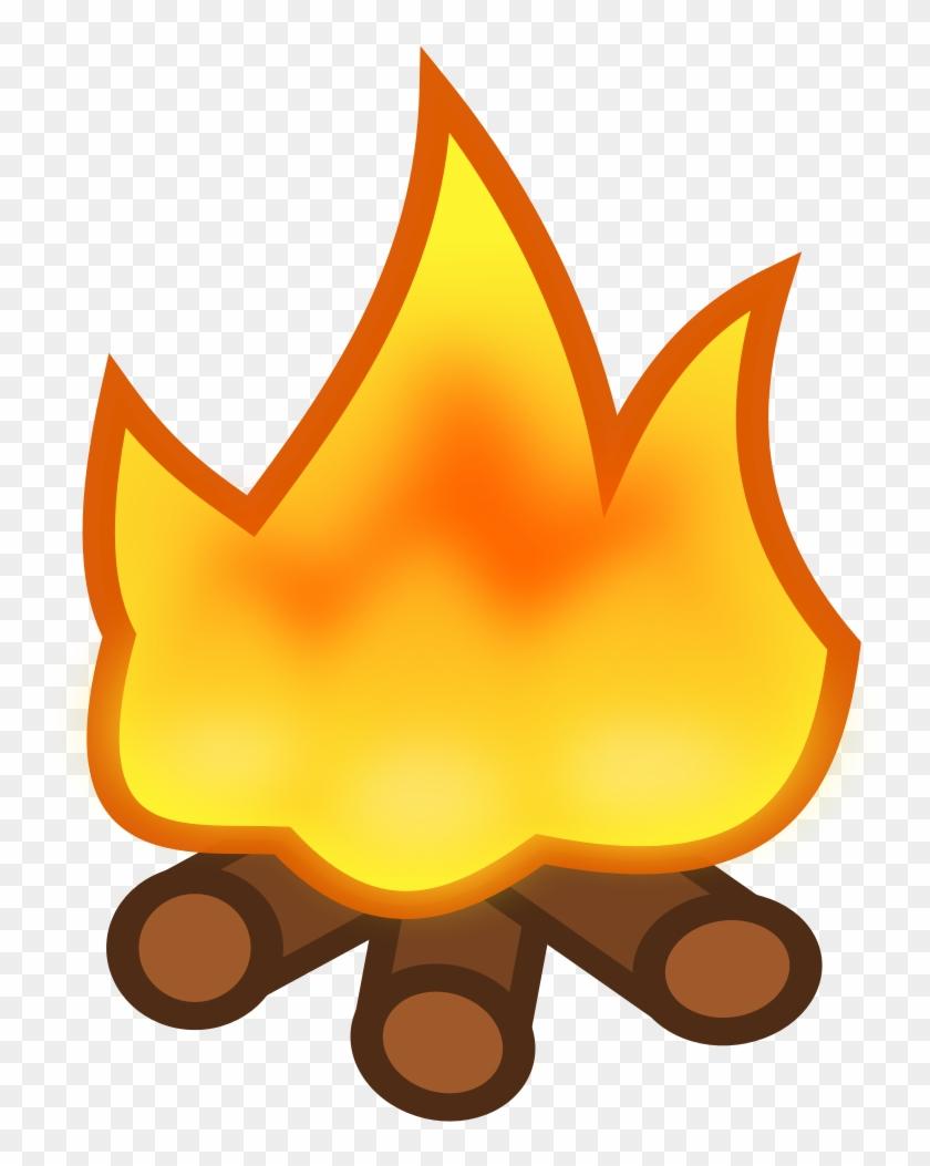 File - Icon-campfire - Svg - Camp Fire Icon #402140