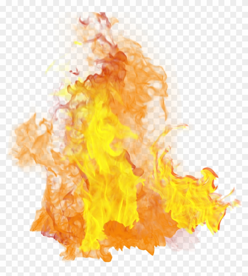 Fire Clipart Transparent Background - Flame Fire Transparent Background #402242