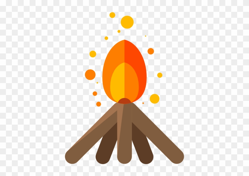 Camping Zone Icons - Camp Fire Icon #402325