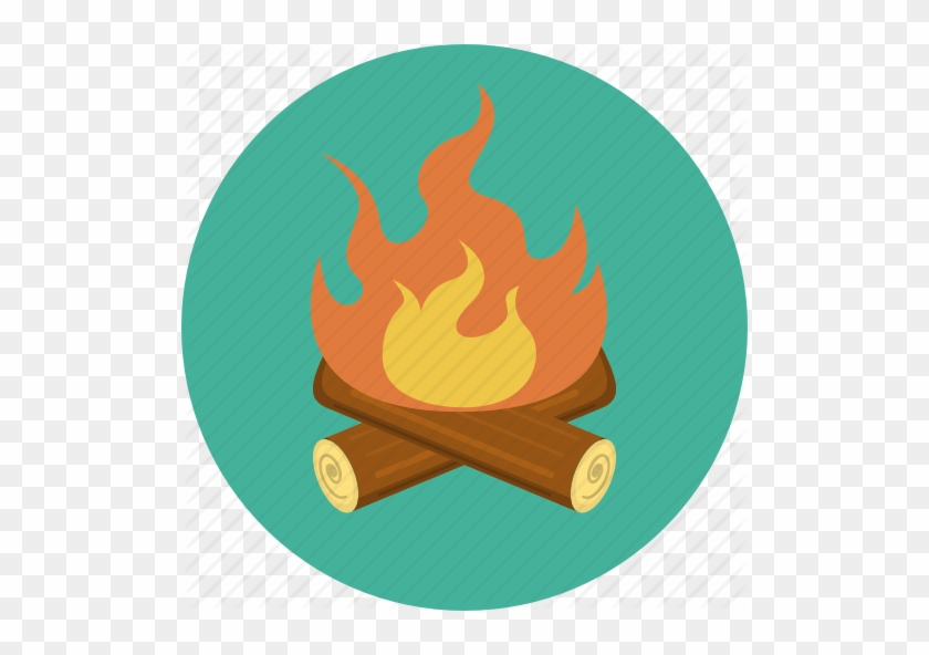 Campfire Icon Png - Camping #402349