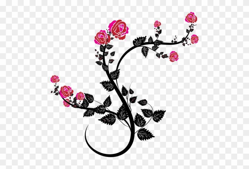 Rose Branch - Rose Vines #402384