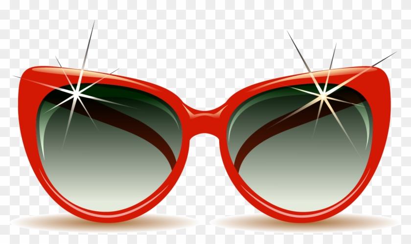 Sunglasses Beach Summer Clip Art - Sunglasses #402654