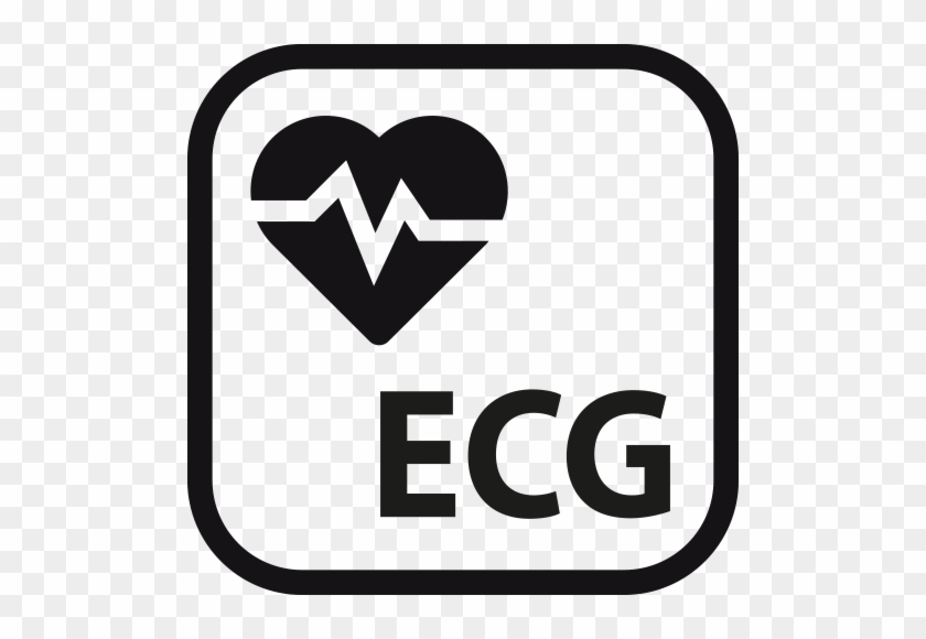 Press The Ecg Sensor For 30 Seconds For Heart Rate - Ecg Icon #403589