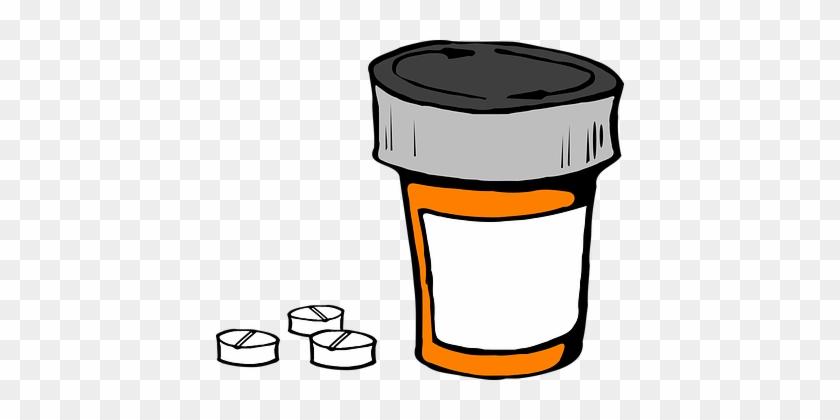Pill Bottle Medicine Prescription Medical - Pill Bottle Transparent Background #403624