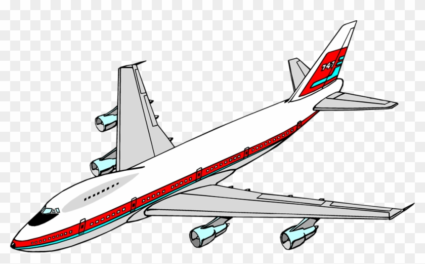 Aircraft Clipart Boeing 747 Airplane Clipart Free Transparent Png Clipart Images Download