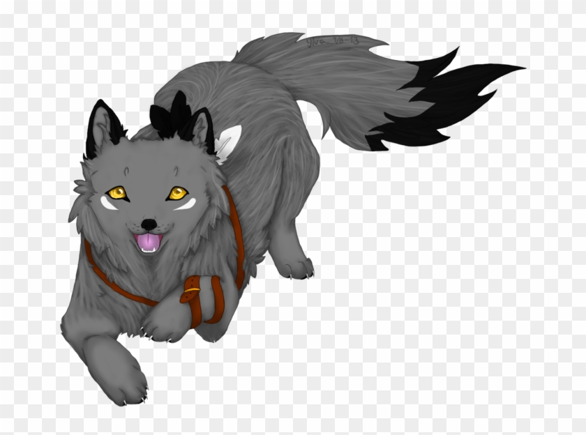 85 854560 grey puppy by wolves anime wolf no background