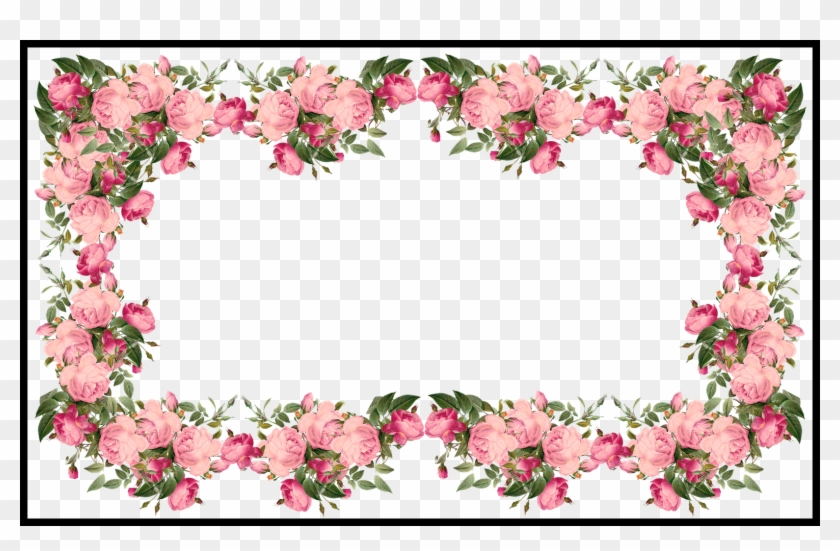 Awesome Vintage Pink Frames And Border Png U Pics For - Border ...