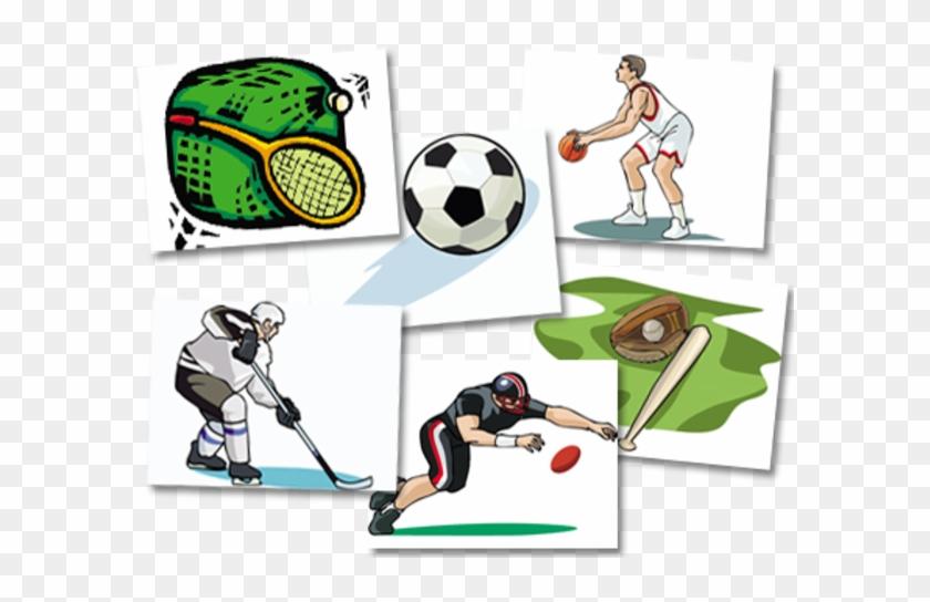 Shaow Clipart Football - Sports Games Clip Art #404369