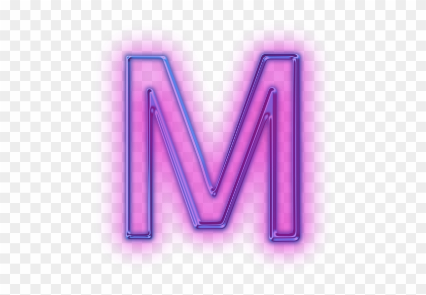 Clip Arts Related To - Glowing Letter M #404587