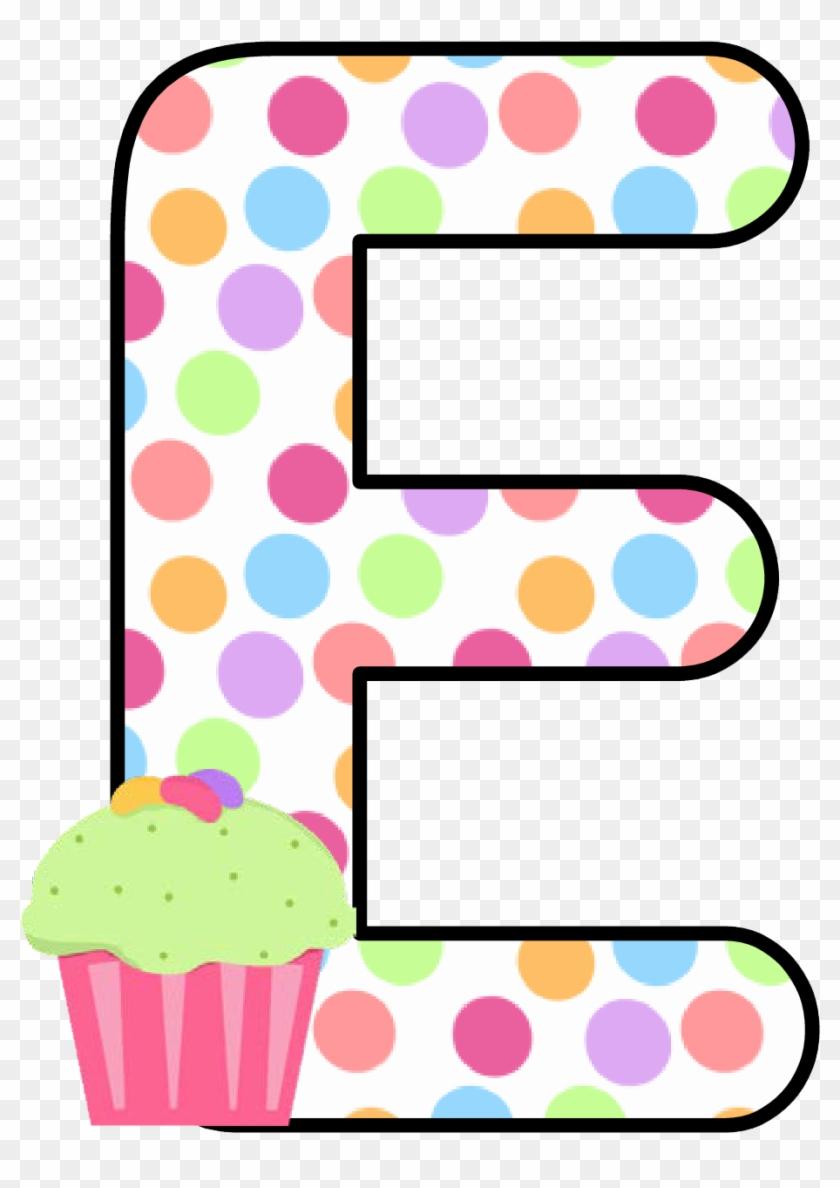 Ch B *✿* Alfabeto Cupcake De Kid Sparkz - Alphabet #404609