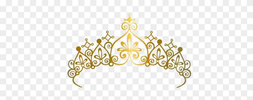 Princess Crown Vector - Princess Gold Crown Vector #404786