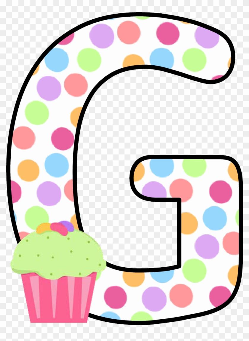 Ch B *✿* Alfabeto Cupcake De Kid Sparkz - Alfabeto Cupcake #405052