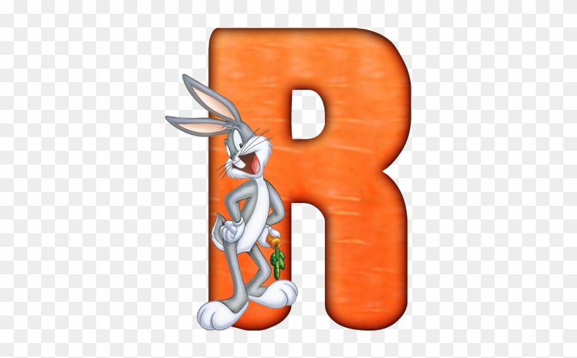 Clip Art - Bugs Bunny Alphabet #405241