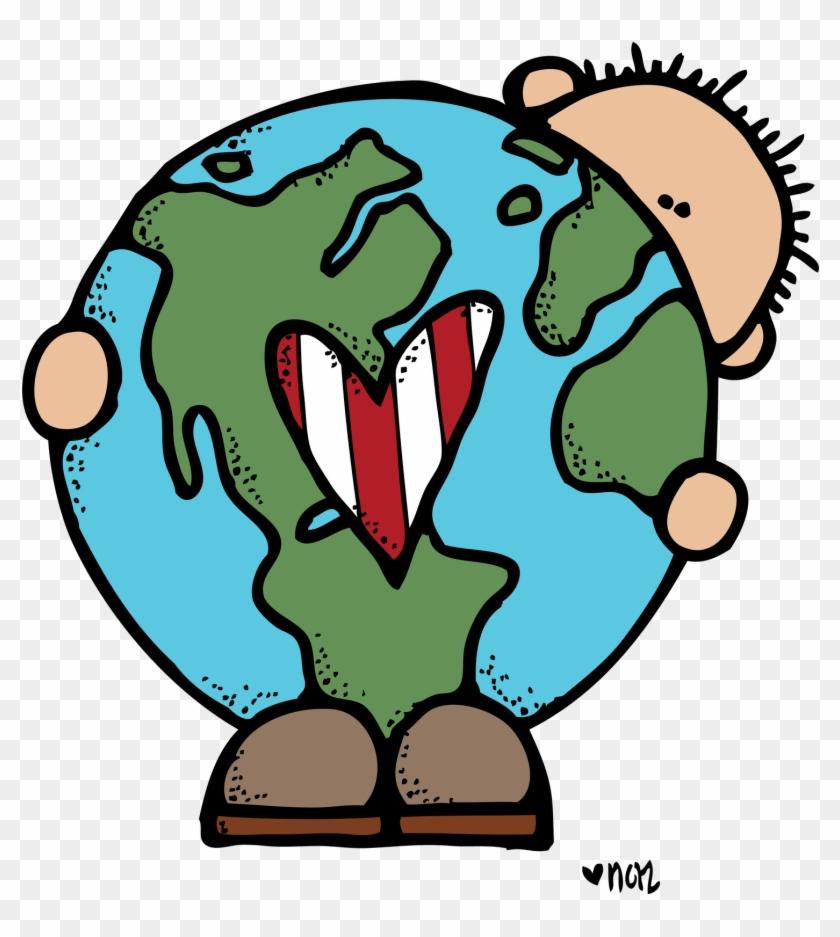 Melonheadz Earth Day Clipart - Earth Day Clipart #405508