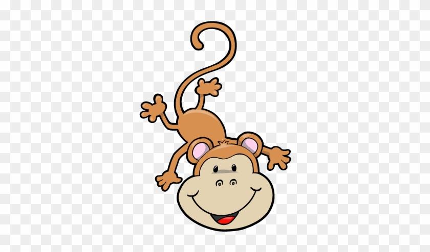 Ape Baby Clipart - Baby Monkey Clip Art #405616