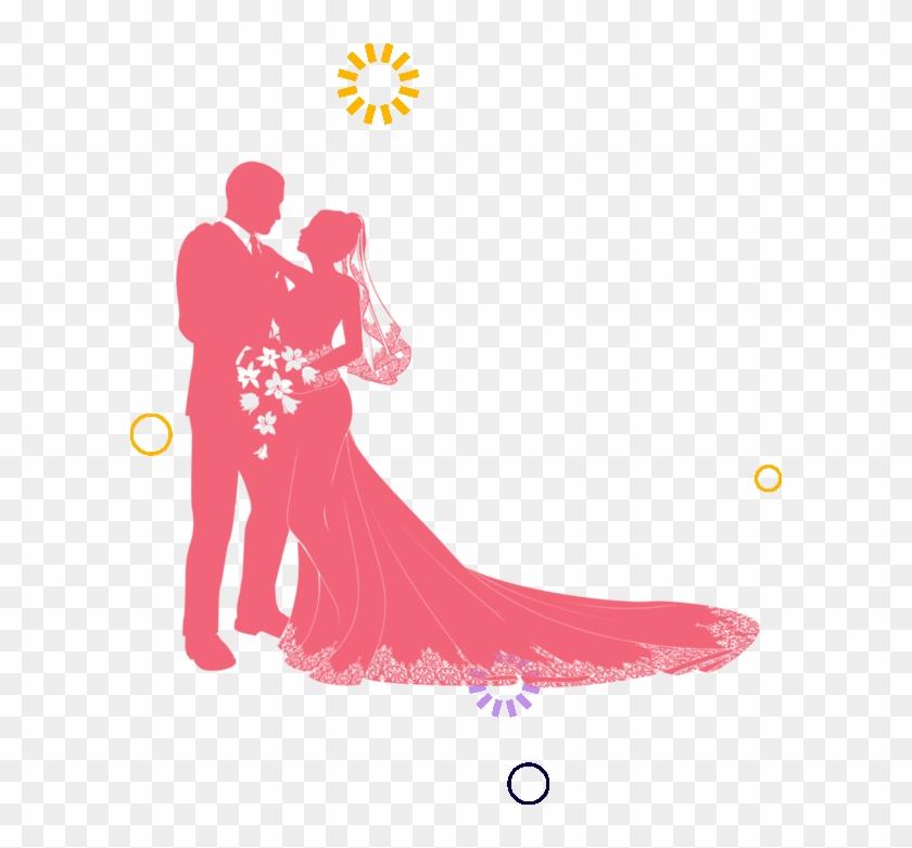 Elshaddai Christian Bridal Shop - Couple Wedding Silhouette #405677