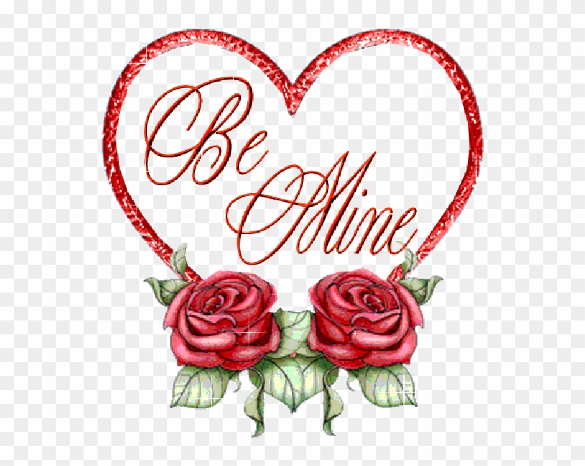 Happy Valentine , Red Love Hearts, Flowers, Red Roses, - Sawiro Jacayl Ah Oo Qurux Badan #405932