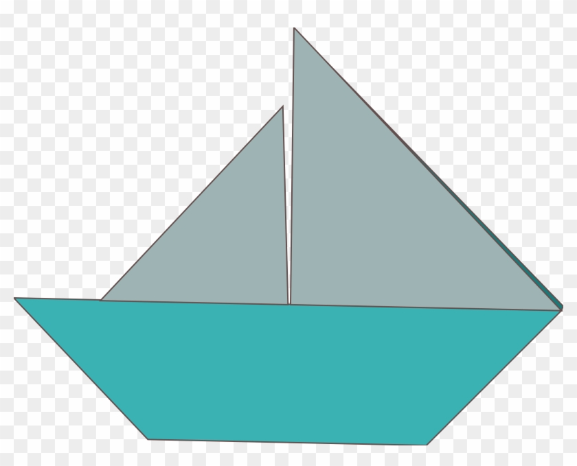 Bugeye Sailboat Clipart Vector Clip Art Online Royalty Origami