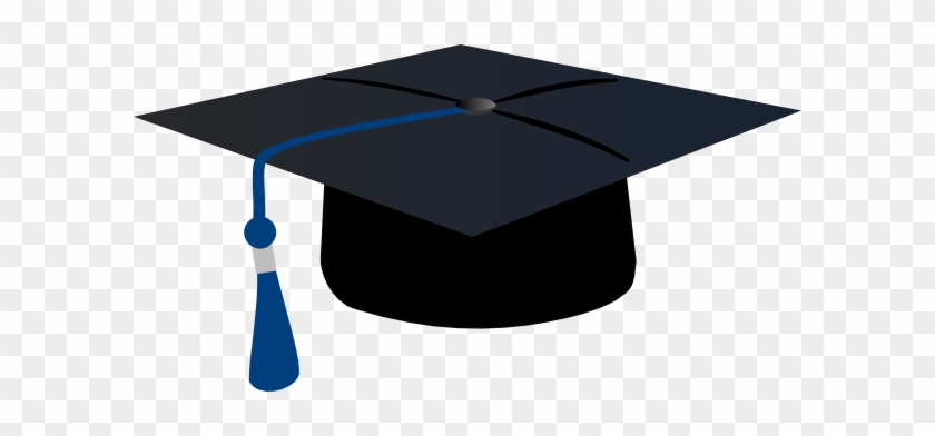 Graduation Cap With Purple Tassel #406252
