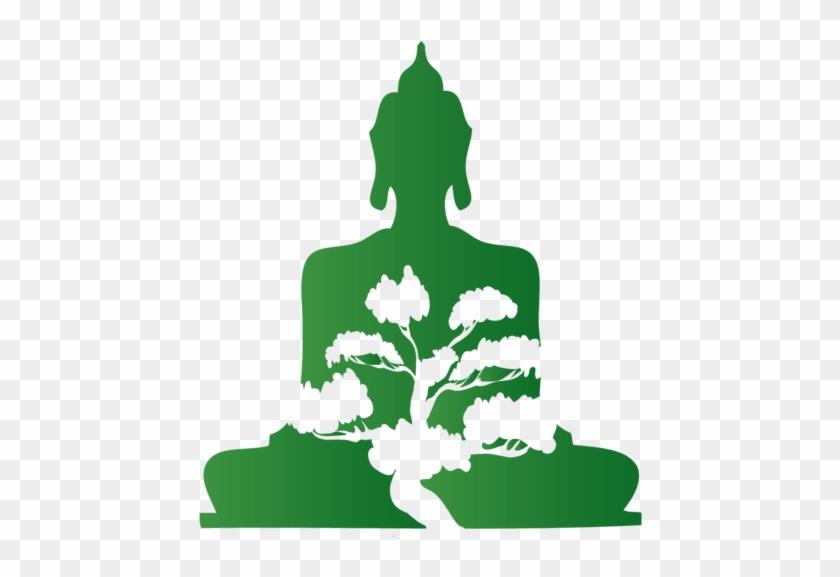 Bonsai Buddha - Icon Buddha Png Green #406391