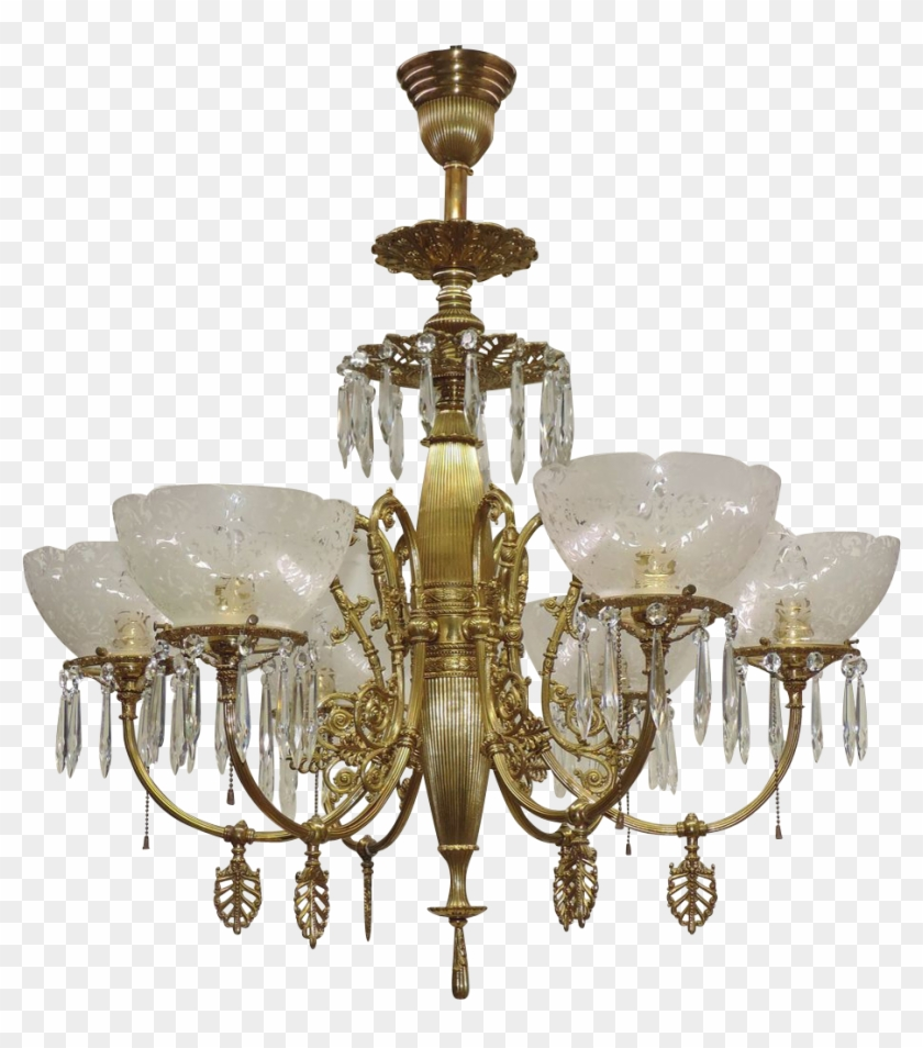 Antique Ornate Gas Chandelier - Online Shopping Of Jhumar #406774