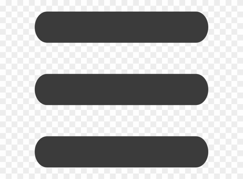 Three Line Menu Icon #406777