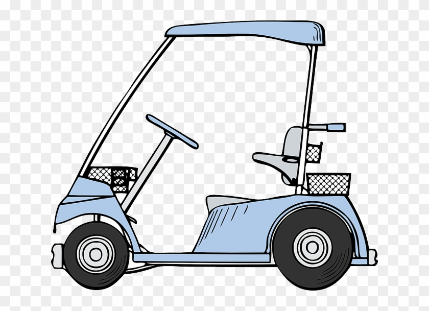 Small Outline Drawing Car Golf Cartoon Golf Cart Clip Art Free Transparent Png Clipart Images Download