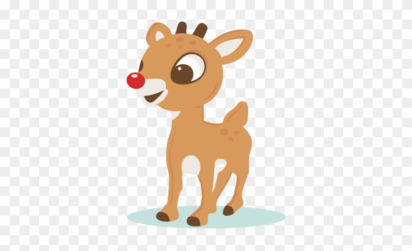 Girl Reindeer Clipart Clipartxtras - Rudolph The Red Nosed Reindeer Clip Art #407294