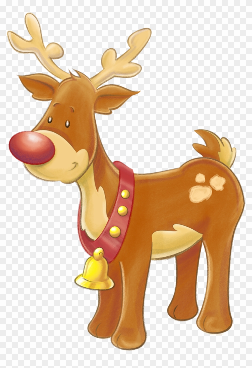 Baby Deer Clipart 23, - Rudolph The Red Nosed Reindeer #407305