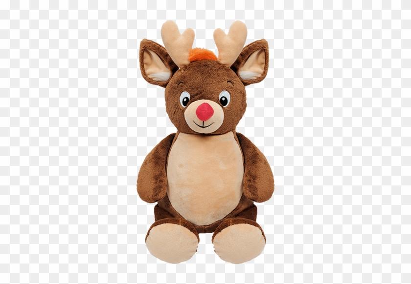 Eric Reindeer - Cubbies Personalised Soft Toy- Christmas Reindeer #407358