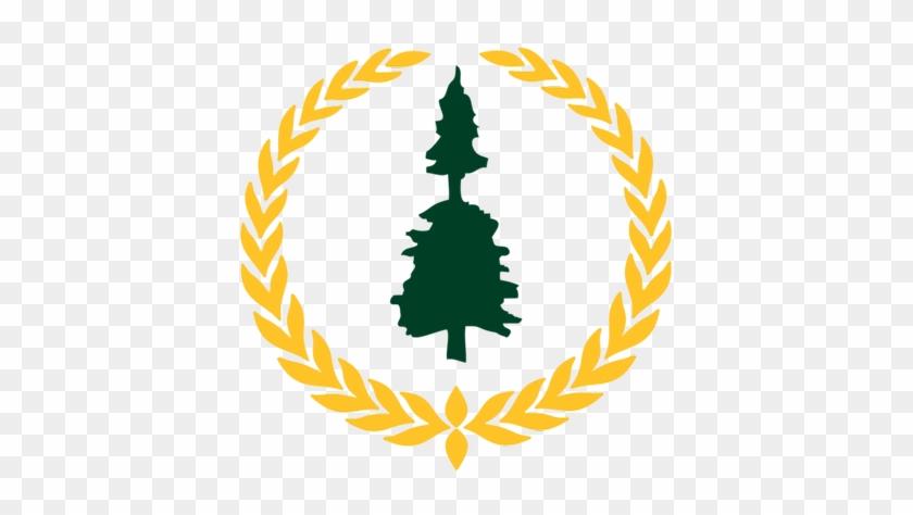 Waskesiu Golf Course - Laurel Wreath Logo #407553