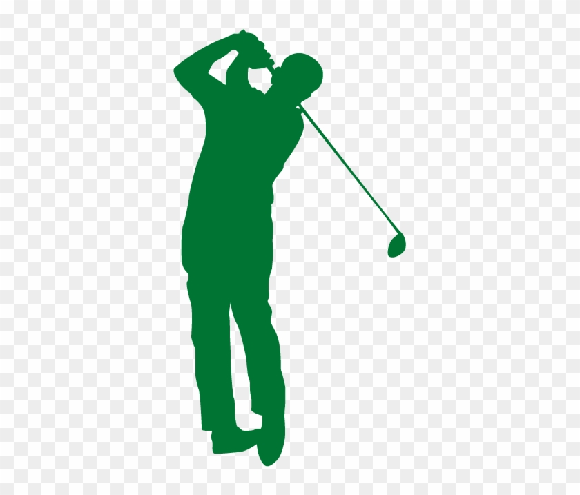 Golfer Silhouette Clip Art Free Transparent Png Clipart Images