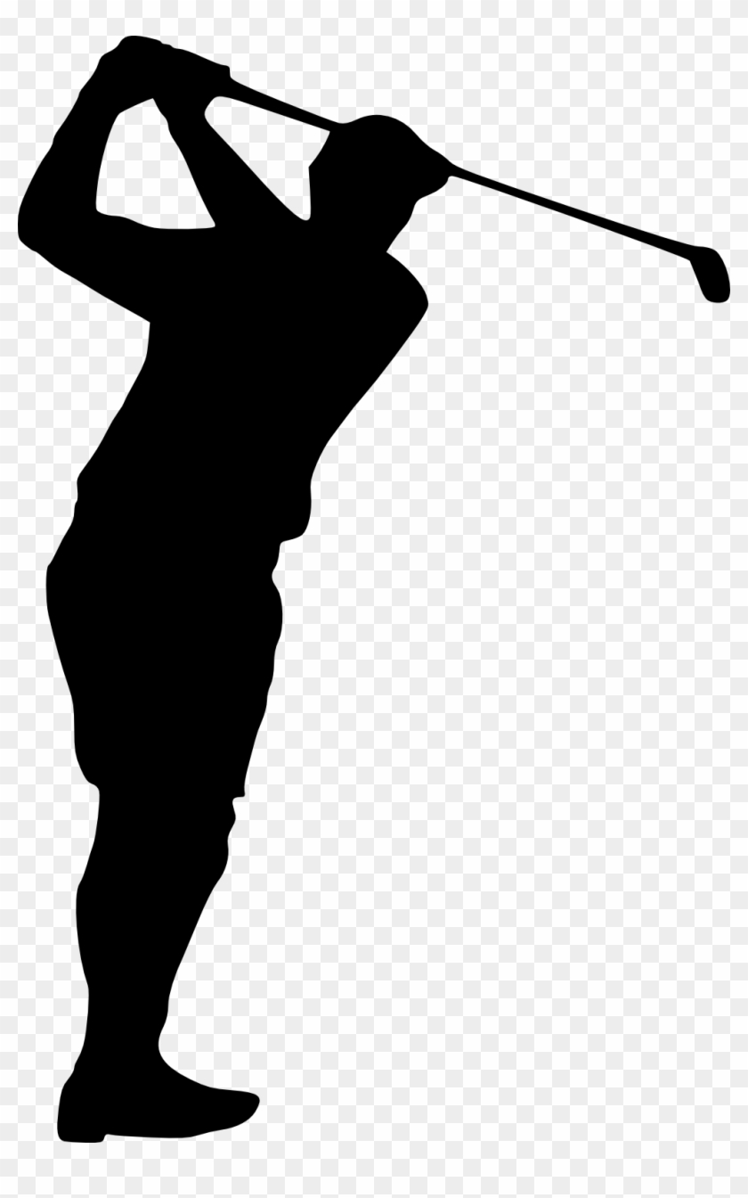 Free Download - Golfer Silhouette Png Free #407834