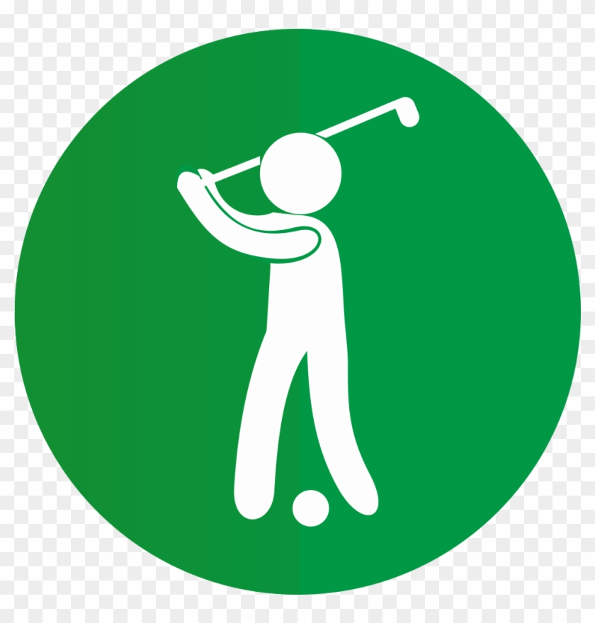 Improve Your Swing Naturally - Info Icon Green Png #407881