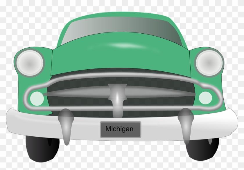 Vintage Fire Cliparts 21, Buy Clip Art - Classic Car Clipart Front #408306