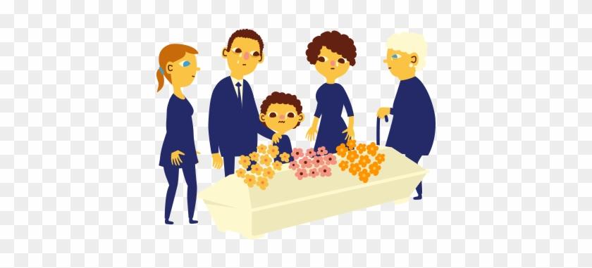 Family Member Clipart - Death Of Family Member Cartoon #408457