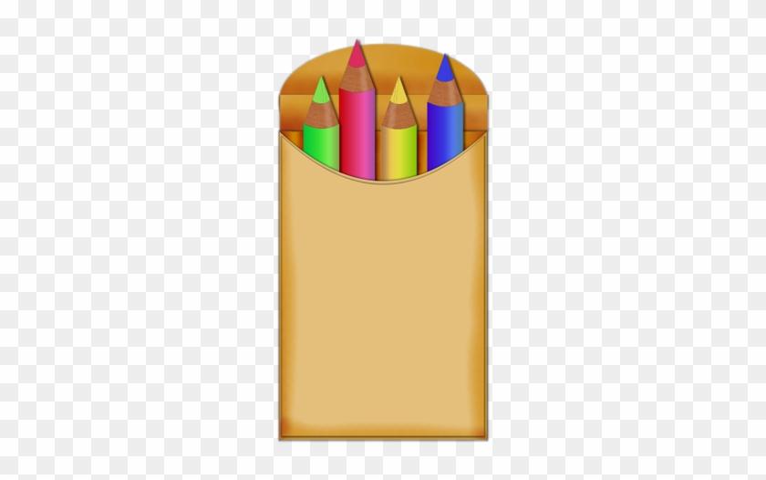 Color Clipart Pencil Crayon - Clipart School Pencil Crayons #408572