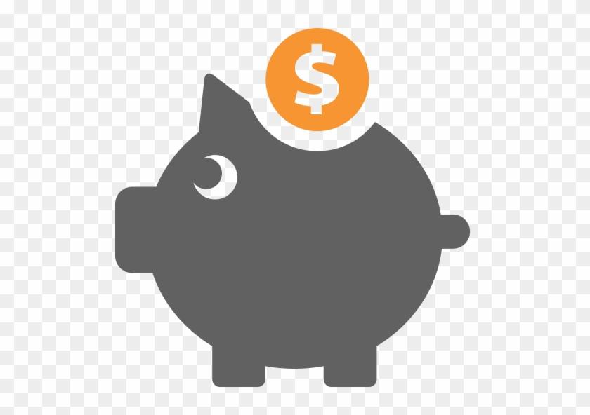 Piggy Bank, Multicolor, Business Icon - Weapon #408634