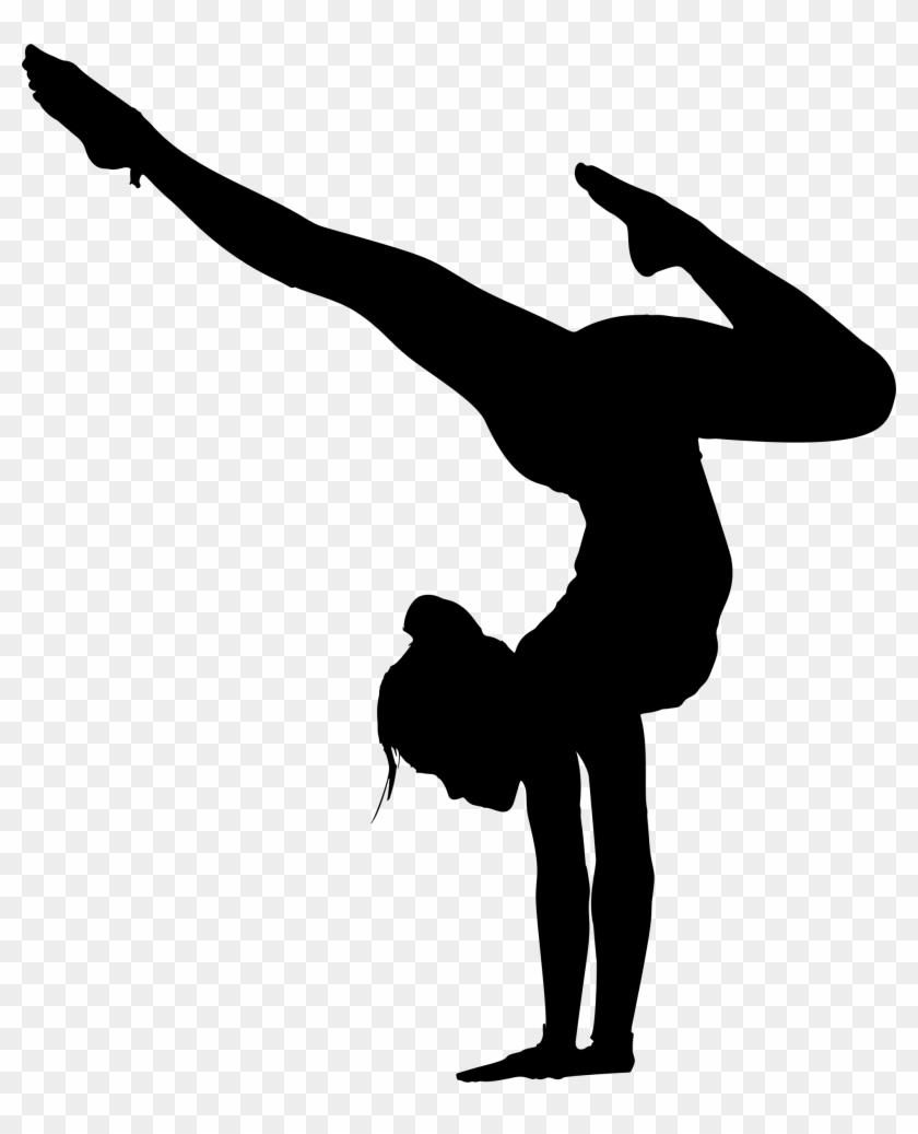 Big Image - Yoga Silhouette Png #408920