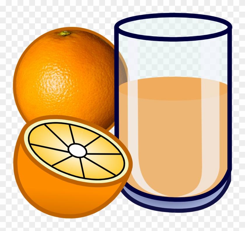 Carton Of Orange Juice Clipart Picture - Cartoon Orange Juice #409095