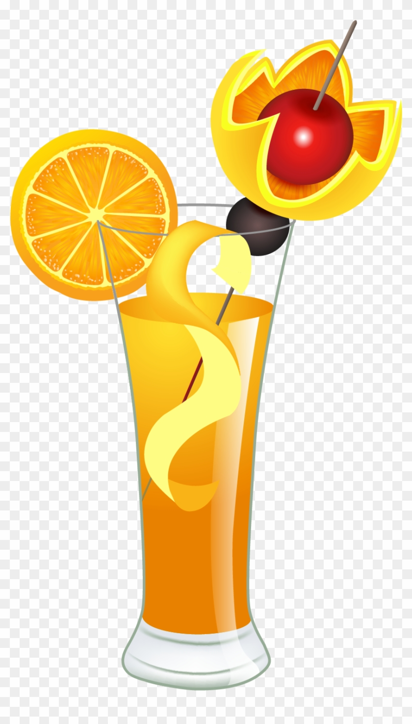 Orange Cocktail Png Clipart Picture - Exotic Cocktail Png - Free ...