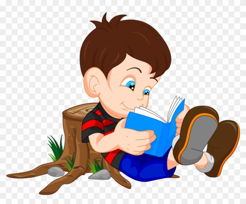Jeu Des Sept Familles Sur La Bible - Boy Reading A Book #409241