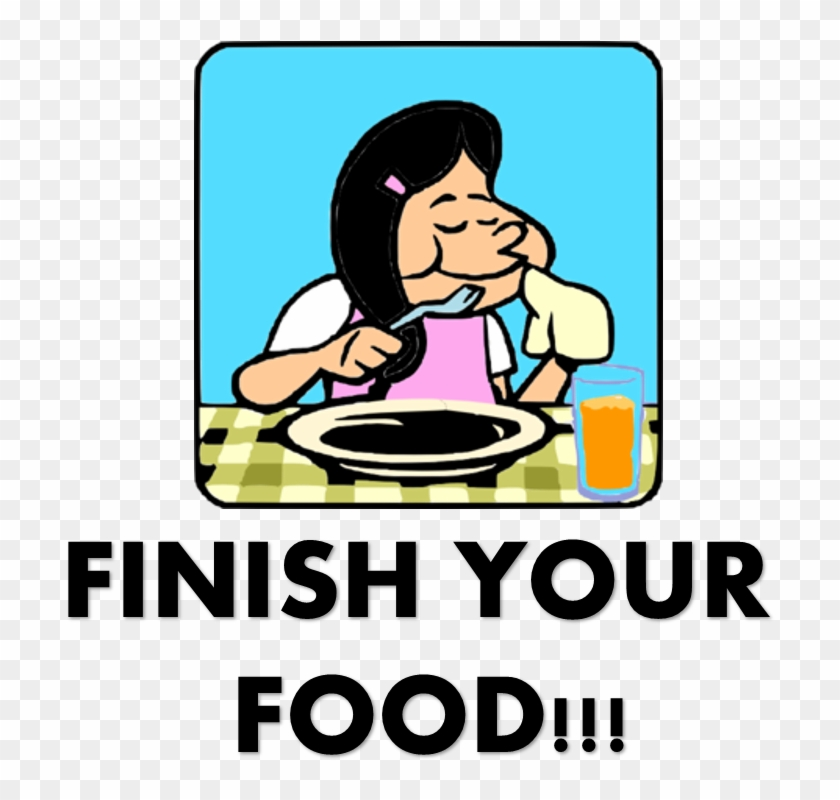 From The Field To Your Plate - Do Not Waste Food Clipart #409574