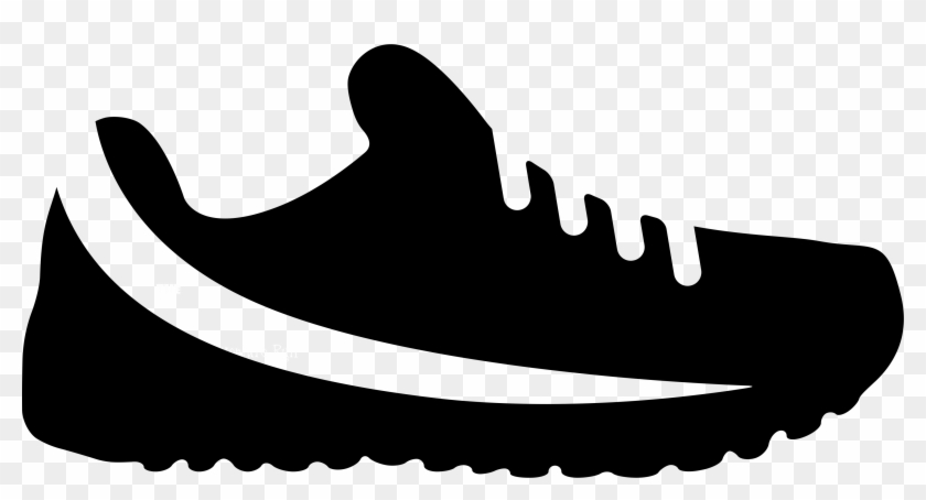 Running Shoe Print Png - Running Shoe Icon Png #409806