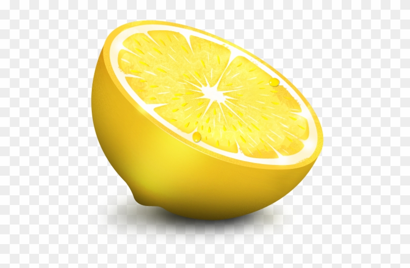 Slice Lemon Png Image - Lemons Icon #409994