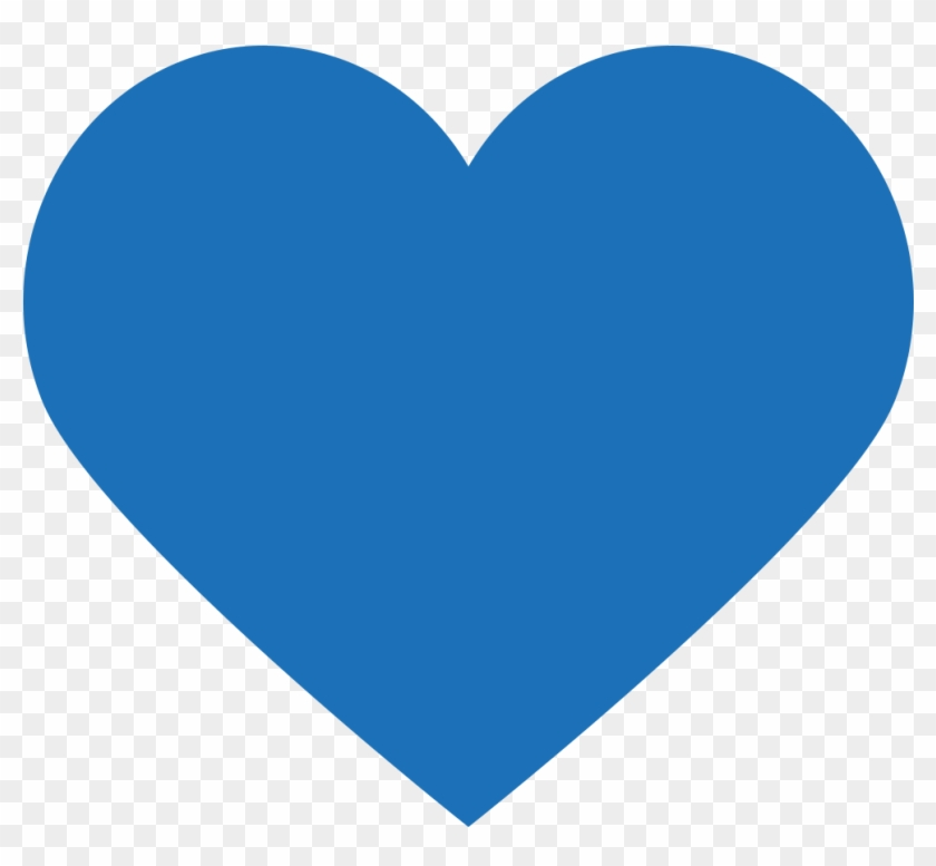 Motive Einfügen - Blue Heart #410530