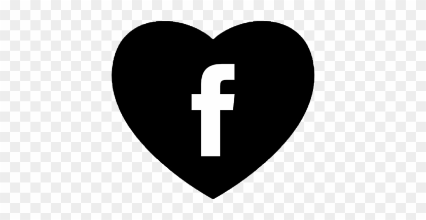 Werdet Fan Auf Facebook - Logo Facebook Corazon Png #410532