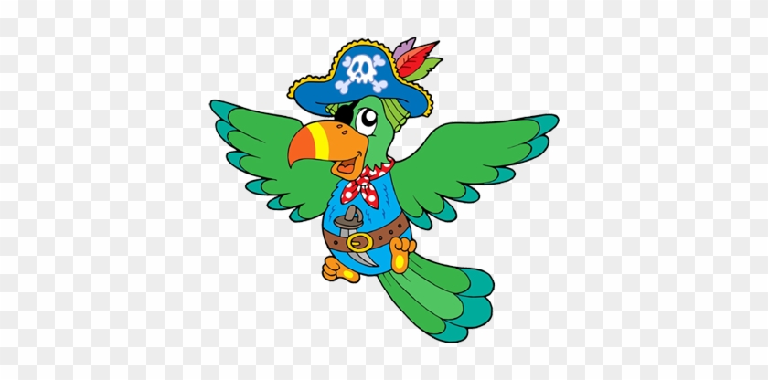 Freischaren Seengen Elternverein Hunzenschwil - Cute Pirate Parrot Clipart #410590