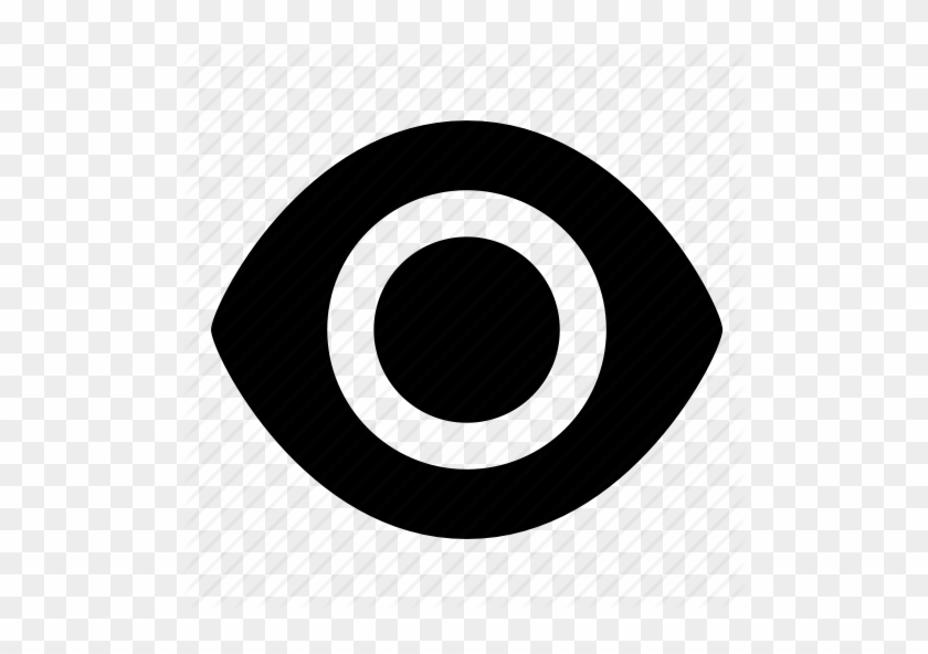 Eye Magnifying Glass Icon - Portrait Of A Man #410652