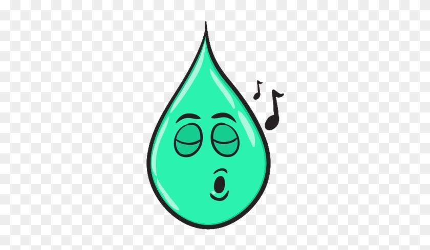 Smiley Emoticone Clipart Cartoon Goutte D Eau Verte Table Free Transparent Png Clipart Images Download